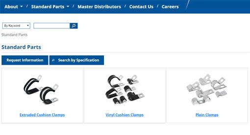 Standard parts catalog